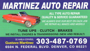 Martinez Auto Repair