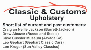 Classic Auto Upholstery