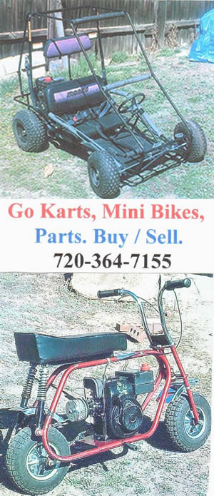 Go Carts and Mini Bikes