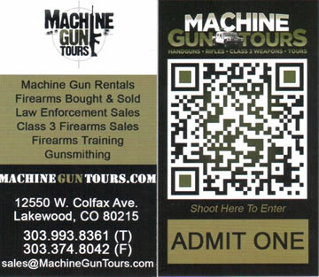 Machine Gun Tours
