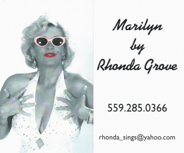 Marilyn by Rhonda Grove