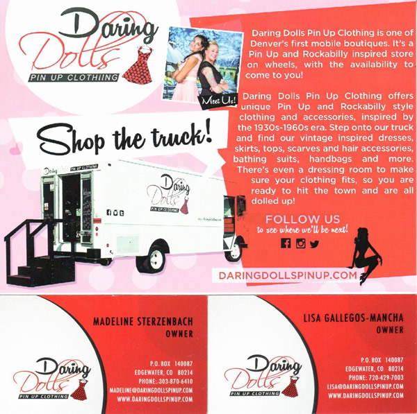 Daring Dolls Pin Up Clothing