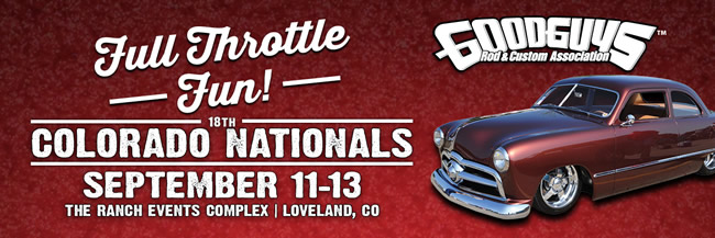 GoodGuys Colorado Nationals Registration Form
