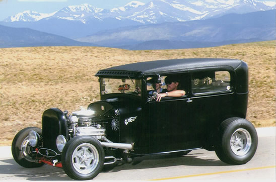 Chopped 1929 Ford Sedan