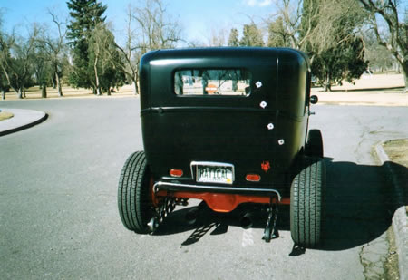 1929 Custom Ford Sedan Hotrod