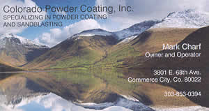 Colorado Powder Coating