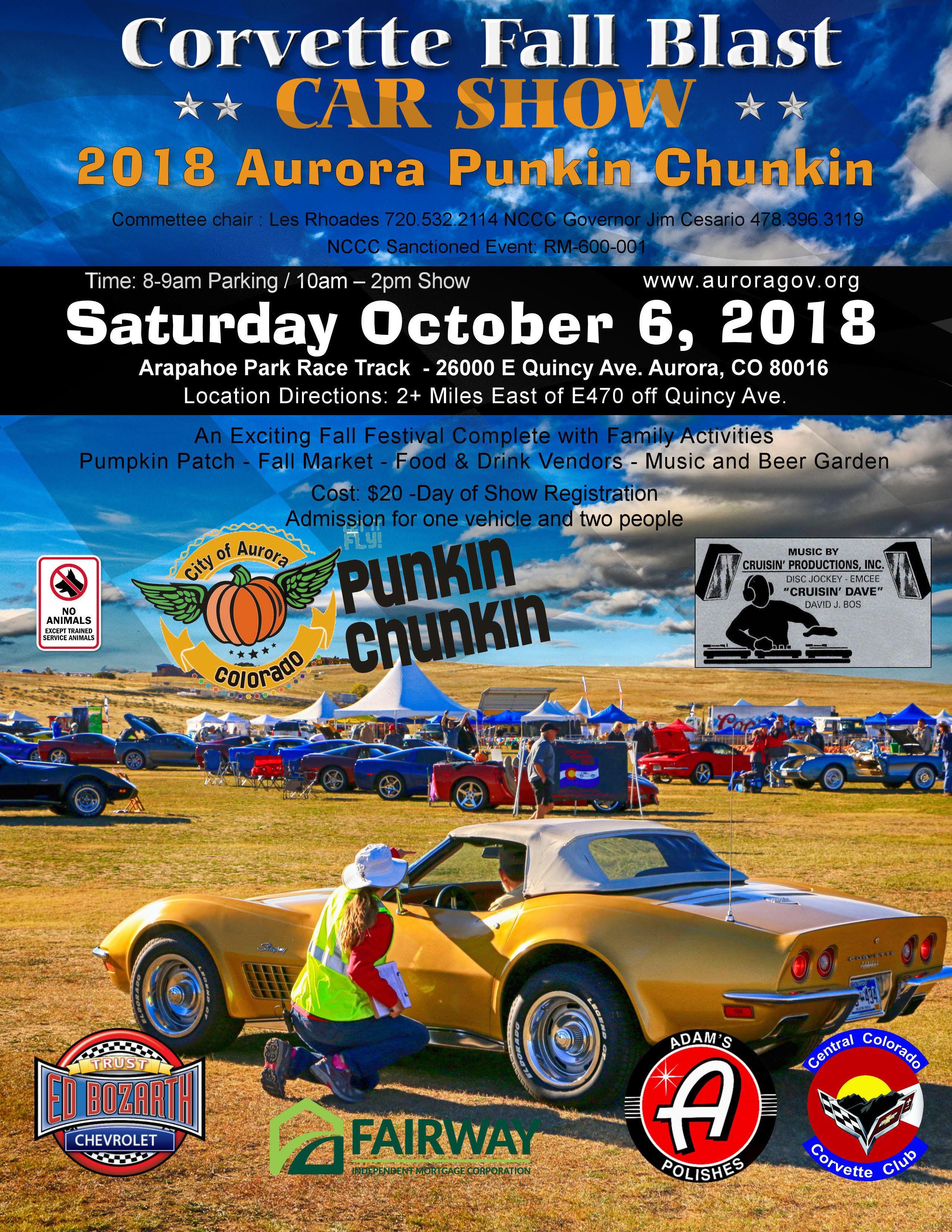 Calendar Cruisin Productions - Colorado car show calendar